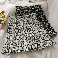skirt Summer 2021 Average size Black, white longuette High waist A-line skirt 18-24 years old A280924 30% and below other other