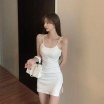 Dress Summer 2021 White, black Average size 6086# 51% (inclusive) - 70% (inclusive)