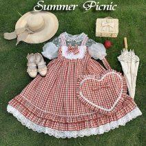 Lolita / soft girl / dress Miaojun studio M, S summer goods in stock Lolita