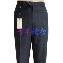 Western-style trousers LAORENTOU Business gentleman 27078-1 41 (3.10 feet) trousers Straight cylinder