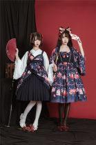 Dress Summer 2020 S,M,L Sweet High waist Lolita