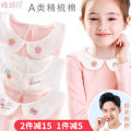 T-shirt Qirafa / qiluo flower female spring and autumn Long sleeves Lapel crew neck princess There are models in the real shooting nothing cotton Solid color Cotton 95% polyurethane elastic fiber (spandex) 5% Class A Sweat absorption Spring of 2019 Chinese Mainland Guangdong Province Dongguan City