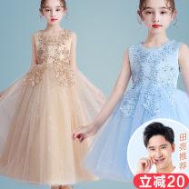 Children's dress female 110cm 120cm 130cm 140cm 150cm 160cm 170cm Doveark full dress Class B nylon Polyester 100% Summer 2020 4 years old, 5 years old, 6 years old, 7 years old, 8 years old, 9 years old, 10 years old, 11 years old, 12 years old, 13 years old, 14 years old princess