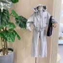 Fashion suit Spring 2021 100cm,110cm,120cm,130cm,140cm Light grey, black