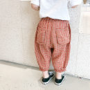 trousers Other / other female 90cm,100cm,110cm,120cm,130cm,140cm Red, black and white summer trousers Korean version There are models in the real shooting Casual pants Leather belt middle-waisted other Don't open the crotch Other 100% Class A Chinese Mainland