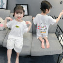 Home suit one piece Other / other Other 100% Size 80 (height 70-78cm, age 1), Size 90 (height 78-87cm, age 1-2), size 100 (height 88-97cm, age 2-3), Size 110 (height 98-107cm, age 3-4), Size 120 (height 108-117cm, age 4-5) white female summer cotton Class B Home Simplicity Chinese Mainland