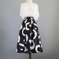 skirt Summer 2020 S (waist 66-70cm for 95-105kg), m (waist 68-72cm for 100-115kg), l (waist 74-78cm for 112-130kg), XL (waist 72-80cm for 130-140kg, XXL (waist 76-82cm for 140-150kg) Picture color (medium length with knee pocket) Mid length dress grace High waist Fluffy skirt Decor polyester fiber