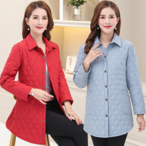 Middle aged and old women's wear Summer of 2019, spring of 2019, autumn of 2019 Brown, purple, caramel, scarlet, light blue XL [about 90-110 kg recommended], 2XL [about 110-125 kg recommended], 3XL [about 125-140 kg recommended], 4XL [about 140-155 kg recommended], 5XL [about 150-165 kg recommended]