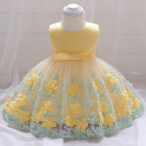 Dress female Other / other Other 100% No season princess Skirt / vest Solid color other Fluffy skirt Class B 3 months, 12 months, 6 months, 9 months, 18 months, 2 years old Chinese Mainland Guangdong Province Guangzhou City