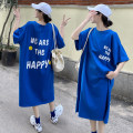Women's large Summer 2021 Blue, black Big XL, big XXL, big XXL, big XXXXL, big XXXXL, big L, M shirt singleton  commute easy moderate Socket Short sleeve Broken flowers square neck routine polyester Three dimensional cutting routine 25-29 years old Three dimensional decoration 96% and above
