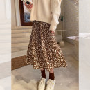skirt Spring 2021 Average size Apricot, black, brown Mid length dress fresh High waist A-line skirt Type A MQ211007 31% (inclusive) - 50% (inclusive) Dreamers