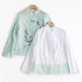 jacket Summer 2020 S. M, l, XL, XXL, XXXL, customized extra large and small, free modification, non refundable Mint green yarn jacket, mint green suit Over 35 years old