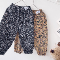 trousers Other / other neutral 90cm,100cm,110cm,120cm,130cm,140cm,150cm Black, Khaki spring and autumn trousers leisure time No model Casual pants Leather belt middle-waisted cotton Don't open the crotch other other