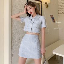 Fashion suit Spring 2021 S,M,L Jacket, skirt 18-25 years old Other / other lym12568