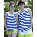 Vest / vest Youth fashion Others Other leisure standard Sweat vest routine summer Crew neck youth 2020 Chinese style stripe Socket Round hem cotton other other nothing 90% (inclusive) - 95% (inclusive)