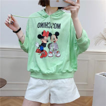 T-shirt M, L Spring 2021 Nine point sleeve Hood Regular commute other 30% and below 18-24 years old Korean version Babaon