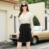 Fashion suit Autumn 2020 S,M,L,XL Apricot + Black 25-35 years old RMO&JUL 31% (inclusive) - 50% (inclusive) polyester fiber