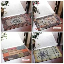 Mat Others Machine weaving A B D E F I J K L n o p q YY 1t as shown in Figure t HH r y w V 45 cm × 76 cm Hand washable vacuum cleaner Finished carpet (yuan / piece) household lobby American style Geometric pattern