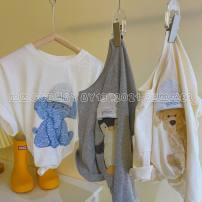Sweater / sweater Other / other White, off white, light grey, dark grey female 90cm,100cm,110cm,120cm,130cm,140cm spring and autumn nothing leisure time Socket routine There are models in the real shooting cotton Solid color Other 100% Cotton liner