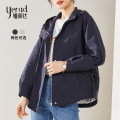 short coat Spring 2021 S M L XL XXL XXXL Long sleeves routine routine singleton  easy routine Hood zipper Solid color 25-29 years old Yerad / Yalida 96% and above pocket polyester fiber polyester fiber Polyester 100% Same model in shopping mall (sold online and offline)