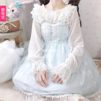 Dress Spring 2020 Single sale ~ suspender skirt Chiffon interior (one size) Average size Middle-skirt Sleeveless Socket Princess Dress camisole 18-24 years old Type A Jingyuefang More than 95% polyester fiber Polyester 100%