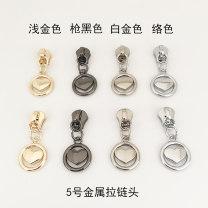 zipper Gun black 5 (1), platinum = steel (1), complexion = silver (1), light gold (1) CHUANGMEI CM42-0335