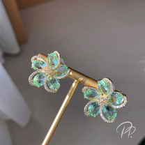 Earrings other 51-100 yuan Other / other brand new female Japan and South Korea goods in stock Fresh out of the oven Plants and flowers