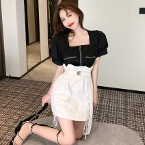 Fashion suit Spring 2021 Average size 5302 top, 5303 skirt 18-25 years old Three point one