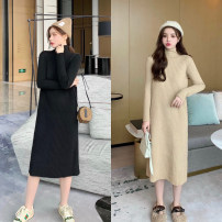 Wool knitwear Autumn of 2019 Average size Black, khaki, beige, deep coffee acrylic fibres 51% (inclusive) - 70% (inclusive) Other / other