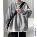 Sweater Youth fashion myfangshao S,M,L,XL,2XL Solid color Socket routine Crew neck spring easy leisure time youth routine