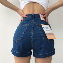 Jeans Summer 2020 Black, dark blue, light blue S,M,L,XL shorts High waist routine 18-24 years old other 81% (inclusive) - 90% (inclusive)