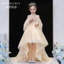 Children's dress Champagne female 100cm 110cm 120cm 130cm 140cm 150cm 160cm Royal Sasa full dress HBSS-0093 Class B Acetate fiber (acetate fiber) 100% Summer 2020 Three, eight princess