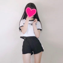 Casual suit Summer of 2018 Picture color Average size Under 17 02 51% (inclusive) - 70% (inclusive) polyester fiber