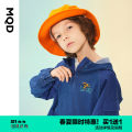 Plain coat MQD male 110cm 120cm 130cm 140cm 150cm 160cm spring and autumn leisure time Socket There are models in the real shooting routine No detachable cap Solid color other Class C Winter 2020