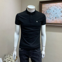 Polo shirt Musstosi Youth fashion thin Black green white purple light blue M L XL 2XL 3XL Self cultivation Other leisure summer Short sleeve MT12006 tide routine youth Cotton 71.7% polyester 28.3% washing Spring 2021 Pure e-commerce (online only)