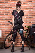 Fashion suit Summer 2021 S,M,L,XL black Other / other 8801-1-9906-1 gold suit 51% (inclusive) - 70% (inclusive) cotton