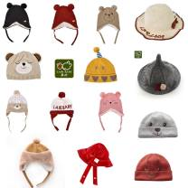 Hat Select by head circumference neutral Headgear dome leisure time Labi baby / Rabbi Flat eaves Pure cotton (95% and above) Winter of 2019 Chinese Mainland leisure time