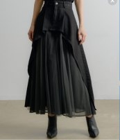 skirt Winter 2020 S, M White, black