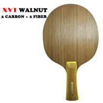 Table tennis floor 7th floor Xvt (sports equipment) All wood plus carbon fiber Walnut carbon fibre Walnut Light head and heavy handle