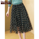 skirt Summer 2021 155/64A/S 160/68A/M 165/72A/L 170/76A/XL 175/80A/XXL black Mid length dress commute Natural waist A-line skirt Decor Type A 35-39 years old 23358BK More than 95% Danmunier polyester fiber Screen printing lady Polyester 100% Pure e-commerce (online only)