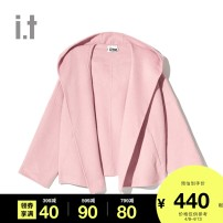 short coat Autumn of 2018 XS S M L XL BKX / black gyl / grey pkx / Pink izzue 51% (inclusive) - 70% (inclusive) IZXJKC7143F8B wool Wool 63.4% polyester 34.7% others 1.9% Same model in shopping mall (sold online and offline)