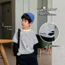 T-shirt Two pieces of lazy t A Xiaoxuan 90cm, 100cm, 110cm, 130cm, 140cm, 150cm, 120 (model size) neutral spring and autumn Long sleeves Crew neck leisure time There are models in the real shooting nothing other other other Chinese Mainland Jiangsu Province Nanjing City