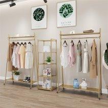 Clothing display rack European style iron art home Set one, set two, set three