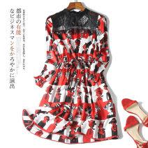 Dress Summer of 2019 Graph color S,M,XL
