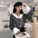 shirt black Average size (80 ~ 100kg), l plus (100 ~ 120kg), XL (120 ~ 140kg), 2XL (140kg ~ 160kg), 3XL (160kg ~ 180kg), 4XL (180kg ~ 200kg) Spring 2021 other 31% (inclusive) - 50% (inclusive) Long sleeves commute Regular V-neck Socket Broken flowers 18-24 years old Korean version