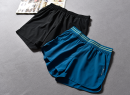 Sports pants / shorts female S code, M code, l code Peacock blue [21-4-01a], black [21-4-01a] * * * Other / other * * * shorts Spring 2021 Moisture absorption, perspiration, quick drying, breathable Tightness Offset printing polyester fiber