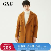 woolen coat Caramel 165/S,170/M,175/L,180/XL,185/XXL,190/XXXL GXG Youth fashion Wool 63% polyamide 18.6% polyester 18.4% have more cash than can be accounted for Other leisure standard youth Lapel double-breasted