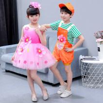 Children's performance clothes Men's , Women's money , Cross dressing , kettle neutral 100cm,110cm,120cm,130cm,140cm,150cm,160cm,170cm Zhang Hao