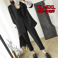 suit Spring 2021 Long sleeves routine Self cultivation 25-29 years old