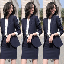 Professional dress suit S,M,L,XL,XXL,XXXL,4XL Spring 2020 Long sleeves TNSY-691 loose coat Suit skirt 25-35 years old Other / other 51% (inclusive) - 70% (inclusive)